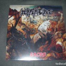 Discos de vinilo: LP NUEVO MASACRE-SACRO ENVIO CERTIFICADO Y GRATUITO . Lote 198799876