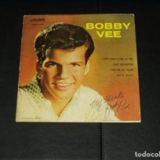 Discos de vinilo: BOBBY VEE EP LOVE'S MADE A FOOL OF YOU. Lote 198807438