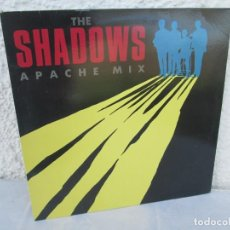 Discos de vinilo: THE SHADOWS. APACHE MIX. LP VINILO. EMI RECORDS. 1991. VER FOTOGRAFIAS ADJUNTAS. Lote 198809856