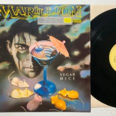 Discos de vinilo: MAXI SINGLE 12'' MARILLION ‎– SUGAR MICE EDICION ESPAÑOLA DE 1987. Lote 198819100