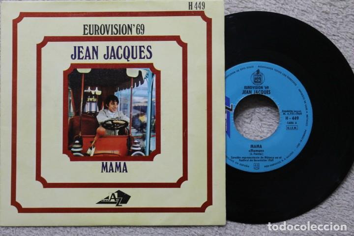 JEAN JACQUES MAMA EUROVISION 1969 SINGLE VINYL MADE IN SPAIN 1969 (Música - Discos - Singles Vinilo - Festival de Eurovisión)
