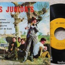 Discos de vinilo: LOS JUNIOR'S PERLA PRECIOSA EP VINYL MADE IN SPAIN 1968. Lote 198823648