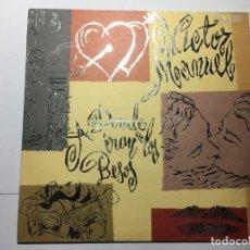 Discos de vinilo: DISCO VINILO LP VICTOR MANUEL - A DONDE IRAN LOS BESOS. Lote 198825101