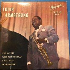 Discos de vinilo: LOUIS ARMSTRONG (EP) (HISPAVOX) 10717 EPB (D:NM). Lote 198827290