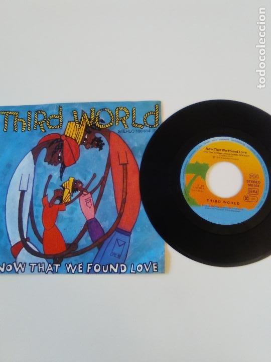 Discos de vinilo: THIRD WORLD Now that we found love / Night heat ( 1978 ISLAND GERMANY ) - Foto 3 - 198829612