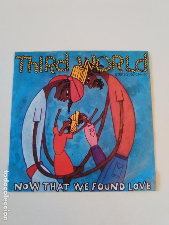THIRD WORLD NOW THAT WE FOUND LOVE / NIGHT HEAT ( 1978 ISLAND GERMANY ) (Música - Discos - Singles Vinilo - Reggae - Ska)