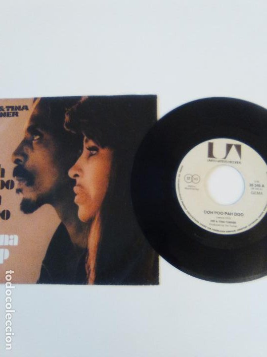 Discos de vinilo: IKE & TINA TURNER Ooh poo pah doo / I wanna jump ( 1972 LIBERTY GERMANY ) - Foto 3 - 198829848