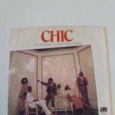 Discos de vinilo: CHIC LE FREAK / SAVOIR FAIRE ( 1978 ATLANTIC USA ). Lote 198830207