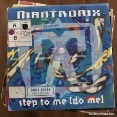 Discos de vinilo: MANTRONIX - STEP TO ME (DO ME) - SINGLE EMI ALEMANIA 1991. Lote 198830705