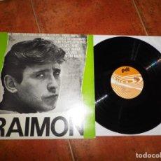 Discos de vinilo: RAIMON AL VENT LP VINILO DEL AÑO 1984 ESPAÑA CONTIENE 12 TEMAS. Lote 198831052