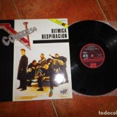 Discos de vinilo: V CONGRESO RITMICA RESPIRACION MAXI SINGLE VINILO DEL AÑO 1985 CONTIENE 2 TEMAS. Lote 198832191