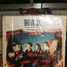 Discos de vinilo: LP LOS REBELDES -TIEMPO DE ROCK AND ROLL-MADRID- EPIC- 1991- SONIC MUSIC. Lote 198835740