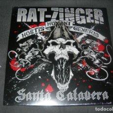 Discos de vinilo: LP NUEVO RAT-ZINGER-SANTA CALAVERA ENVIO CERTIFICADO Y GRATUITO . Lote 198839468