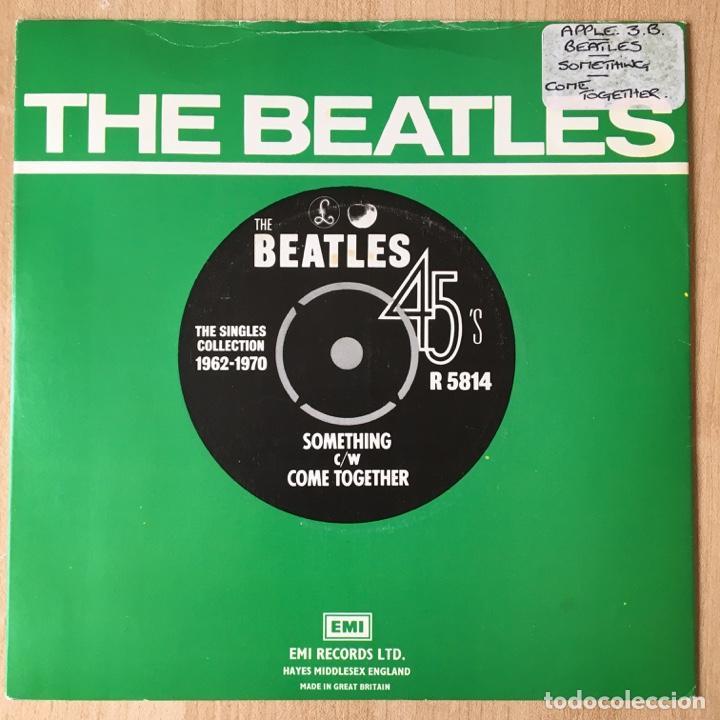 THE BEATLES – SOMETHING / COME TOGETHER, UK 1976 PARLOPHONE (Música - Discos - Singles Vinilo - Pop - Rock Internacional de los 50 y 60)