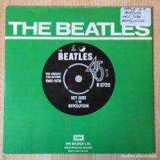 Discos de vinilo: THE BEATLES ?– HEY JUDE / REVOLUTION, UK 1976 PARLOPHONE. Lote 198840887