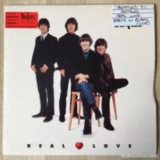 Discos de vinilo: THE BEATLES ?– REAL LOVE, EUROPE 1996 APPLE RECORDS. Lote 198841540