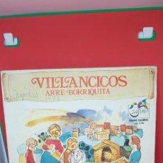 Discos de vinilo: VILLANCICOS SERIE GUIÑOL (VINILO ROJO) 'ARRE BORRIQUITA'. Lote 198846978