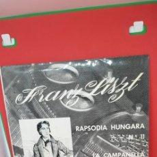 Discos de vinilo: RAPSODIA HÚNGARA. VERGARA .ARIOLA 1962. Lote 198847220