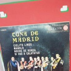 Discos de vinilo: TUNA DE MADRID.'CIELITO LINDO' (JOSÉ DE SOTO) 1963. Lote 198847616