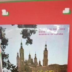 Discos de vinilo: BANDA PRIMITIVA DE LIRIA.EL SITIO DE ZARAGOZA. 1962. Lote 198848808