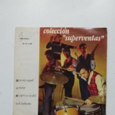 Discos de vinilo: YO SOY AQUEL - MEJOR - CAPRI SE ACABO - EL COCHECITO - COLECCION SUPERVENTAS. TDKDS20. Lote 198848857