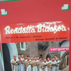 Discos de vinilo: RONDALLA BIDASOA.ALEGRÍAS DE SAN FERMÍN. 1963. Lote 198849011