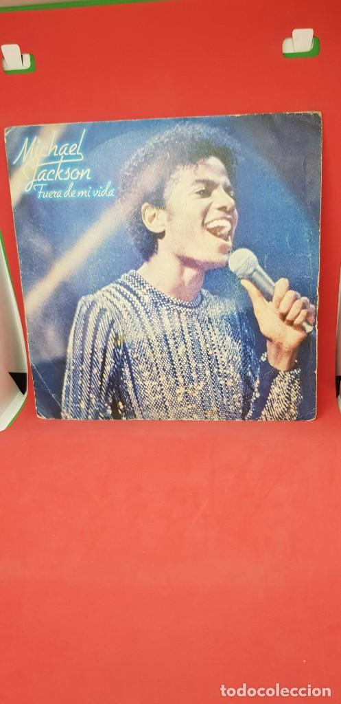 MICHAEL JACKSON 'SHE'S OUT OF MY LIFE' 1979 (Música - Discos - Singles Vinilo - Funk, Soul y Black Music)