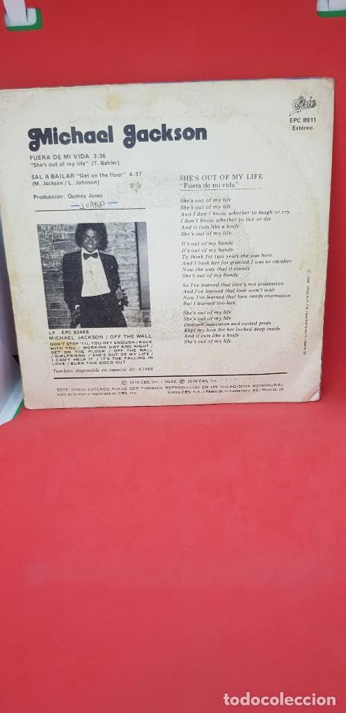 Discos de vinilo: MICHAEL JACKSON SHES OUT OF MY LIFE 1979 - Foto 2 - 198849588