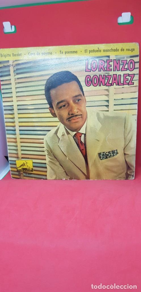 LORENZO GONZÁLEZ Y SU ORQUESTA. EP 1961 (Música - Discos de Vinilo - EPs - Orquestas)