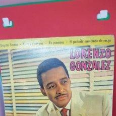 Discos de vinilo: LORENZO GONZÁLEZ Y SU ORQUESTA. EP 1961. Lote 198849755