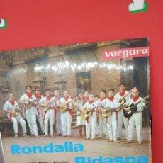 Discos de vinilo: RONDALLA BIDASOA. LEVÁNTATE PAMPLONICA. 1963. Lote 198849837