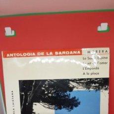 Discos de vinilo: ANTOLOGÍA DE LA SARDANA 1962. Lote 198849935