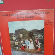 Discos de vinilo: SCHOLA CANTORUM NTRA SRA DEL CORO DE S. SEBASTIÁN 1960 COLUMBIA. Lote 198850127