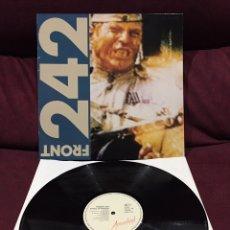 Discos de vinilo: FRONT 242 - POLITICS OF PRESSURE EP. Lote 198851565