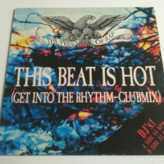 Discos de vinilo: B.G. THE PRINCE OF RAP - THIS BEAT IS HOT. Lote 198852266