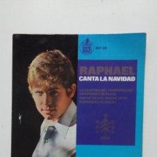Discos de vinilo: RAPHAEL CANTA LA NAVIDAD. SINGLE. TDKDS20. Lote 198852763
