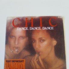 Discos de vinilo: CHIC DANCE DANCE DANCE / SAO PAULO ( 1977 ATLANTIC HISPAVOX ESPAÑA ). Lote 198853017