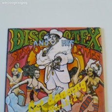 Discos de vinilo: DISCO TEX AND HIS SEX O LETTES GET DANCING PART 1 & 2 ( 1974 CHELSEA ESPAÑA ). Lote 198853166