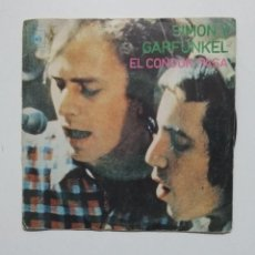 Discos de vinilo: SIMON & GARFUNKEL. EL CONDOR PASA. SINGLE. TDKDS20. Lote 198853267