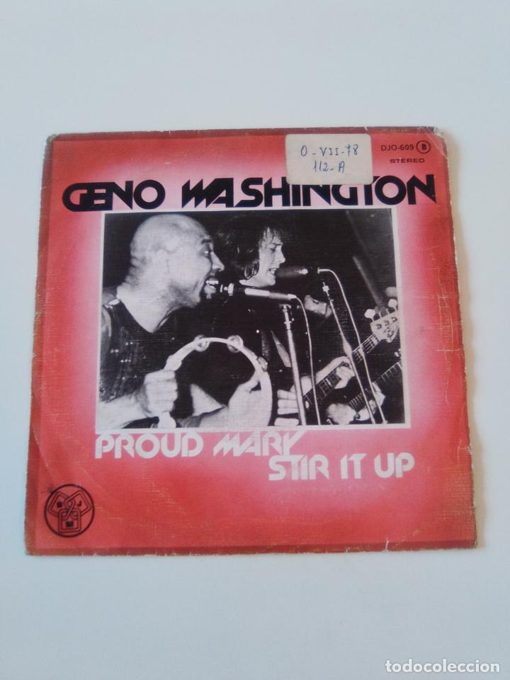 GENO WASHINGTON PROUD MARY / STIR IT UP ( 1978 DJM ZAFIRO ESPAÑA ) (Música - Discos - Singles Vinilo - Reggae - Ska)