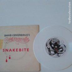 Discos de vinilo: DAVID COVERDALE'S WHITESNAKE SNAKEBITE ( 1978 SUNBURST EMI UK ) VINILO BLANCO. Lote 198853645