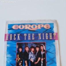 Discos de vinilo: EUROPE ROCK THE NIGHT / SEVEN DOORS HOTEL ( 1990 EPIC UK ). Lote 198854018