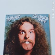 Discos de vinilo: TED NUGENT CAT SCRATCH FEVER / A THOUSAND KNIVES ( 1977 EPIC ESPAÑA ). Lote 198854207