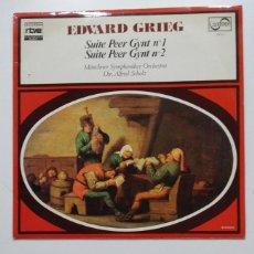 Discos de vinilo: COLECCION RTVE EL MUNDO DE LA MUSICA. Nº 7. EDVARD GRIEG. SUITE PEER GYNT Nº 1 Y 2. TDKDA72. Lote 198855268