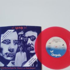 Discos de vinilo: UFO ONLY YOU CAN ROCK ME / CHERRY / ROCK BOTTOM ( 1978 CHRYSALIS UK ) VINILO ROJO. Lote 198855420