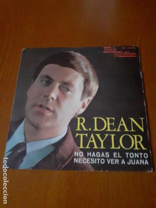 SINGLE DE R.DEAN TAYLOR (Música - Discos de Vinilo - Maxi Singles - Pop - Rock Internacional de los 50 y 60)