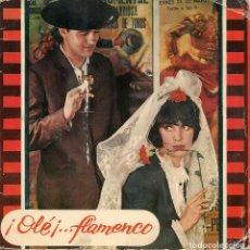 Discos de vinilo: ANDRES BATISTA,OLE FLAMENCO DEL 65 DOBLE CARATULA CON EXTRAS VER FOTO ADICIONAL. Lote 198877457