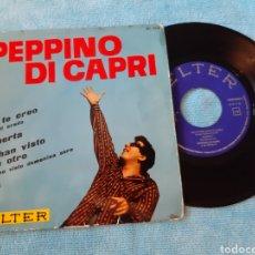 Discos de vinilo: PEPINO DI CAPRI. BELTER. 1963. NO TE CREO + 3.. Lote 198880786