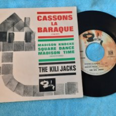 Discos de vinilo: RAREZA. THE KILI JACKS. CASSONS LA BARRAQUE. MADISON KNOCKE. +2. BARCLAY. 1958. FRANCIA.. Lote 198884373