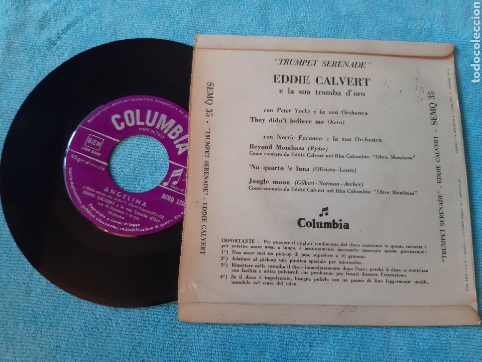 Discos de vinilo: EP. EDDIE CLAVERT. THEY DIDNT BELIVE ME + 3. COLUMBIA. ITALIA. - Foto 2 - 198886126